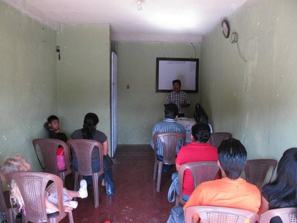 Una asamblea de los santos en Huehue